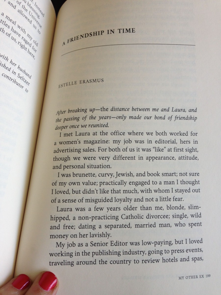 My essay in My Other Ex by Estelle Erasmus