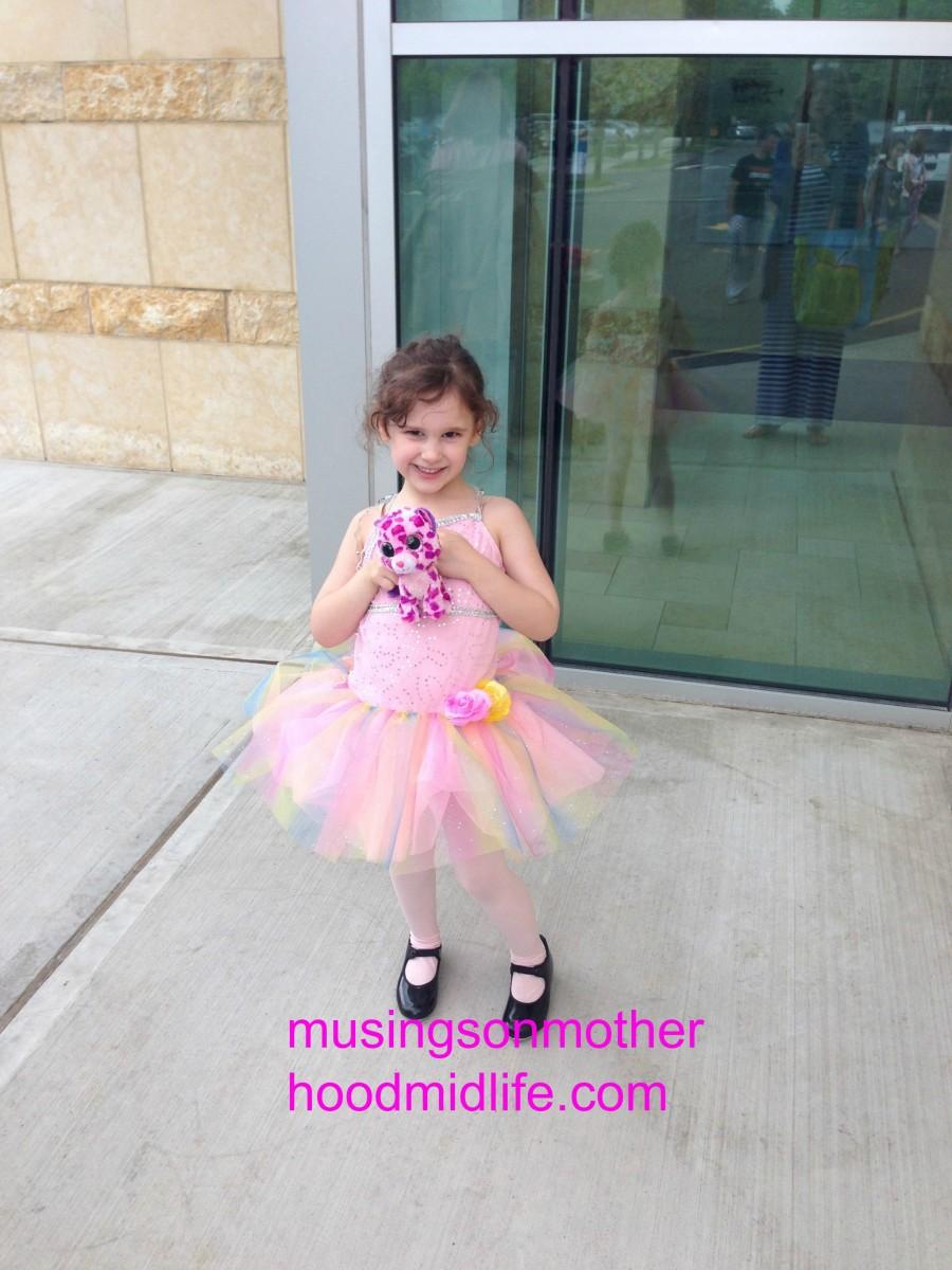 Ballet recital outfit