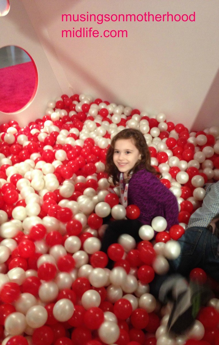 YouTube Kids ball pit