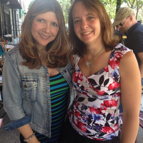 Lunch and Periscoping in NYC with the fab @askdoctorg