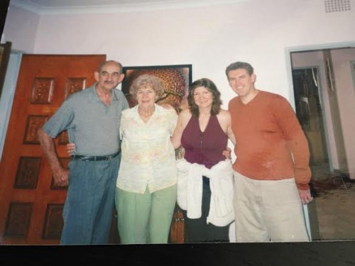 Ouma and Oupa in South Africa