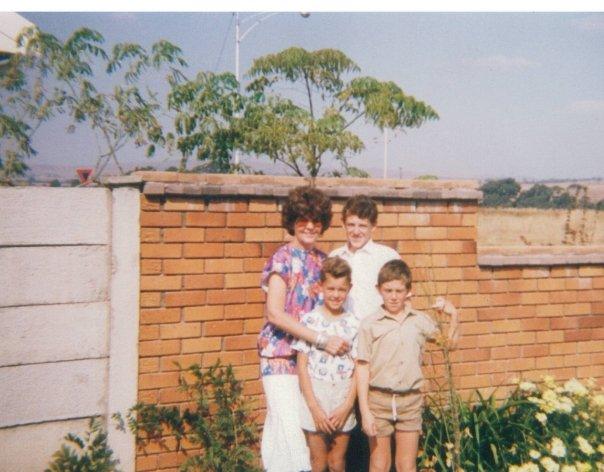 Ouma and her grandkids