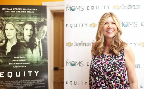 At The Moms Equity event