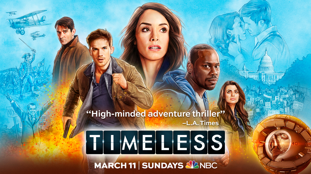 Timeless Launches New Season On Nbc