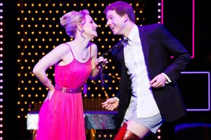Charlie and Lauren from Kinky Boots; an unlikely pair.
